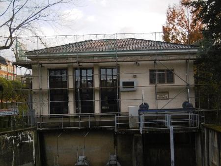 Sanierung Schöpfwerk in Gößnitz