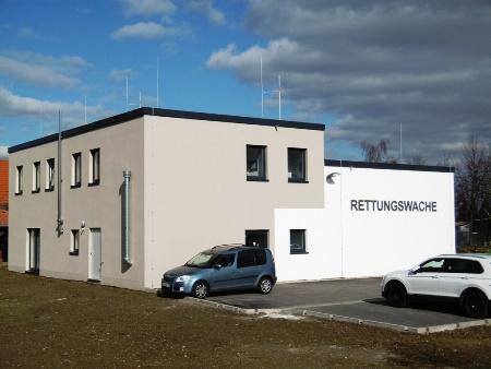 2016: Neubau Rettungswache in Zwenkau: Roh- und Innenausbau