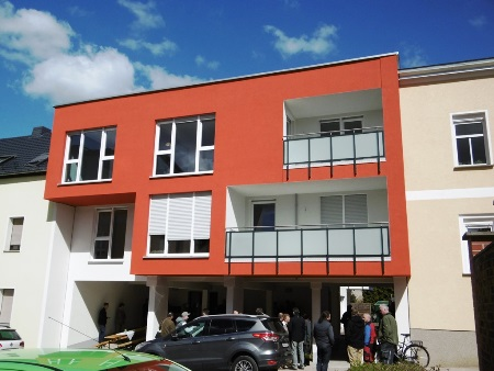 2016: Neubau Mehrfamilienhaus in Schmölln