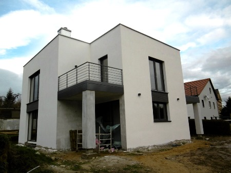 2015: Neubau EFH in Großstöbnitz