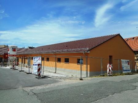 2016: Neubau Kegelbahn Gößnitz