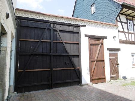 2016: Herstellung vonHof-/ Eingangstoren in Beerwalde