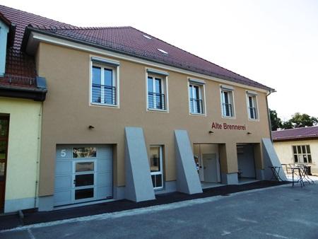 """2014/2015: Umbau """"Alte Brennerei"""" Ponitz"""
