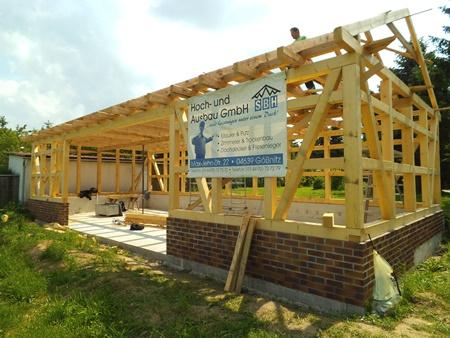 2013: Errichtung eines Mehrzweck-Nebengebäudes in Nörditz